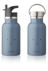 Liewood Liewood - Anker bottle 'Rabbit Blue Wave'