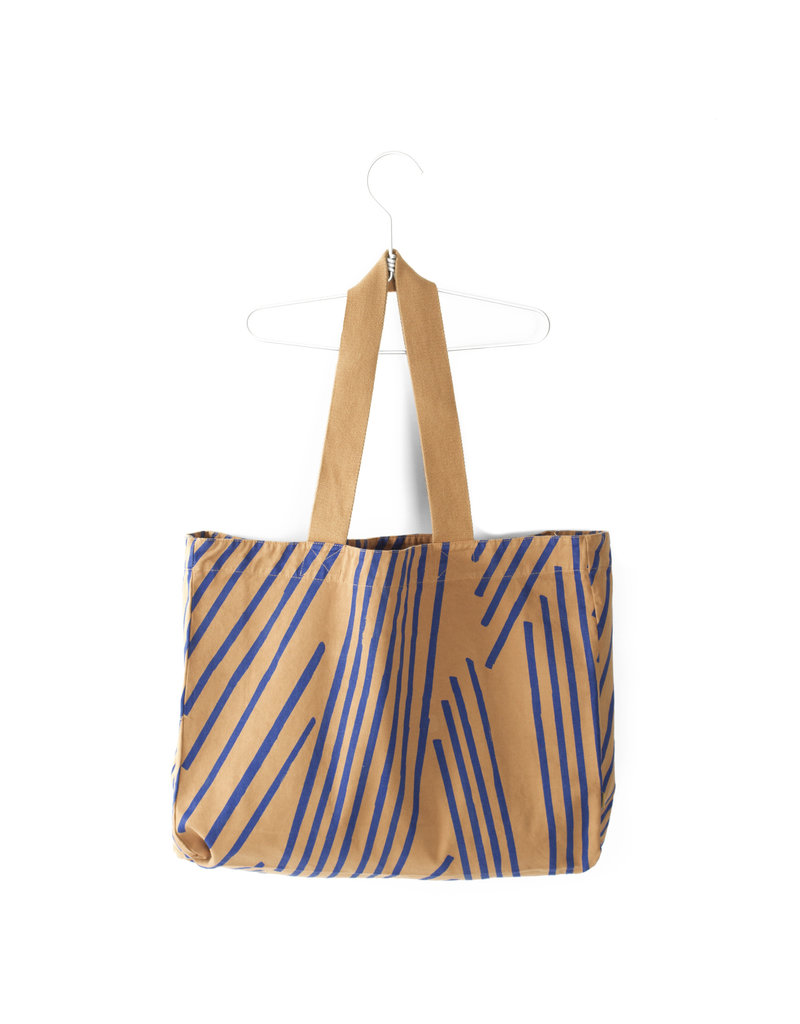 Lötiekids Lötiekids - Canvas Shopping Bag 'Camel'