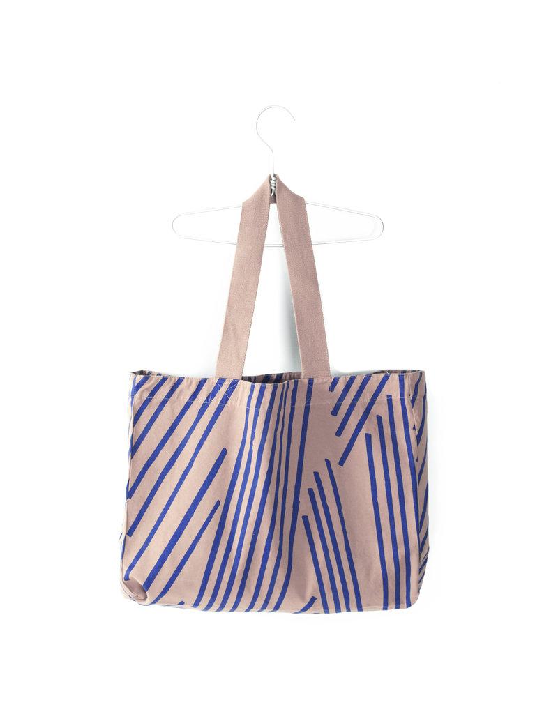 Lötiekids Lötiekids - Canvas Shopping Bag 'Old Pink'