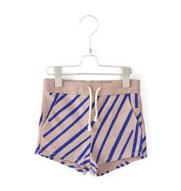 Lötiekids Lötiekids - Oversized Short 'Stripes' - Old pink