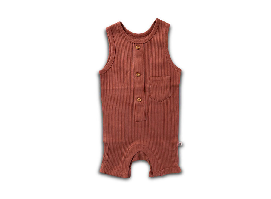 Cos I Said So - Sleeveless Onesie 'Withered Rose'