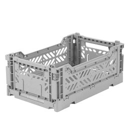 Eef Lillemor Lillemor - Folding Crate 'Grey' - Mini