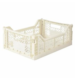 Eef Lillemor Lillemor - Folding Crate 'Coconut' - Medium