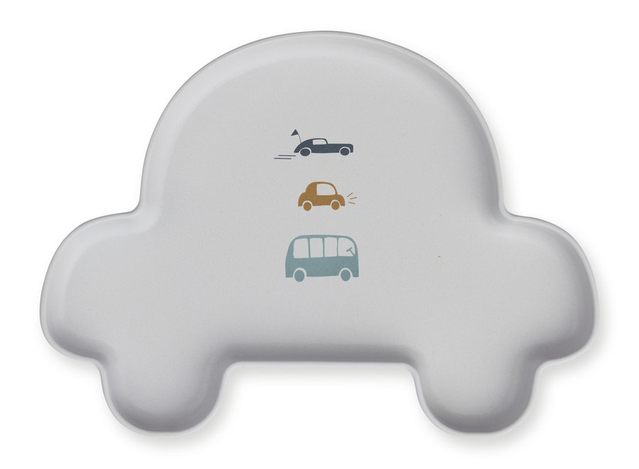 Liewood - Bamboo Set 'Car dumbo grey'