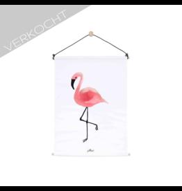 Jollein - Poster 'Flamingo'