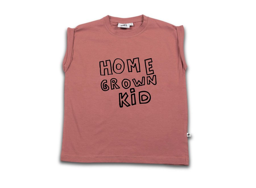 Cos I Said So - Boxy Tee - Home Grown Kid 'Withered Rose'