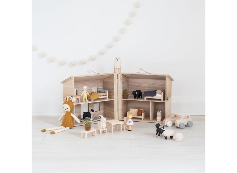 Olli & Ella - Doll House 'Double bed'