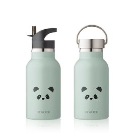 Liewood Liewood - Water bottle 'Panda Mint'