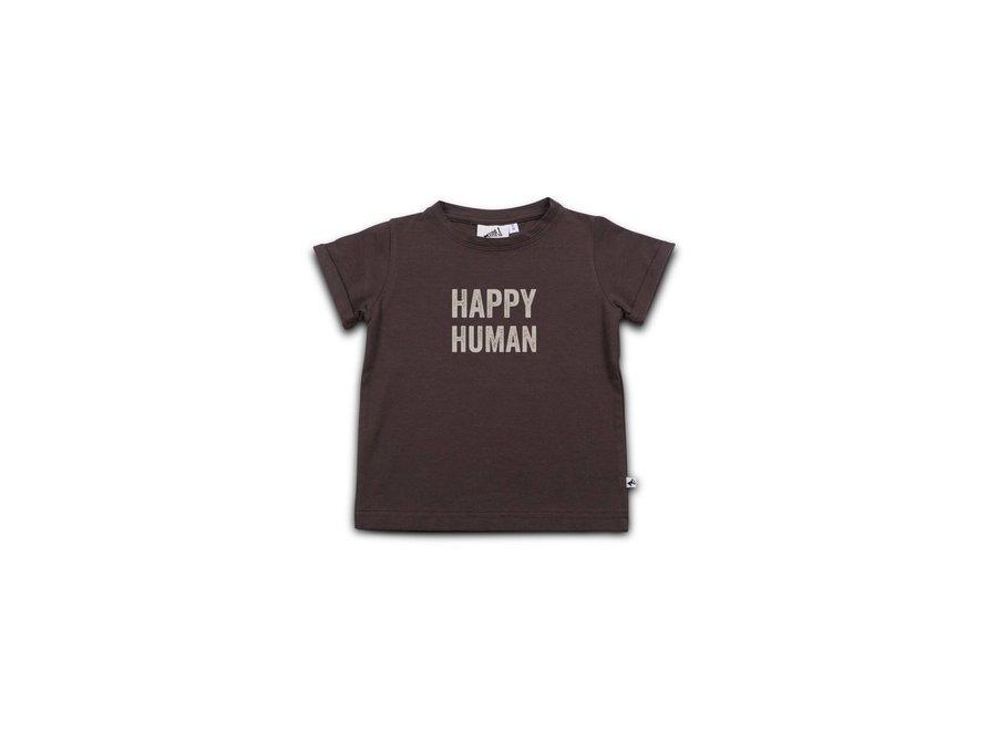 Cos I Said So - T-shirt Happy Human 'Shale'