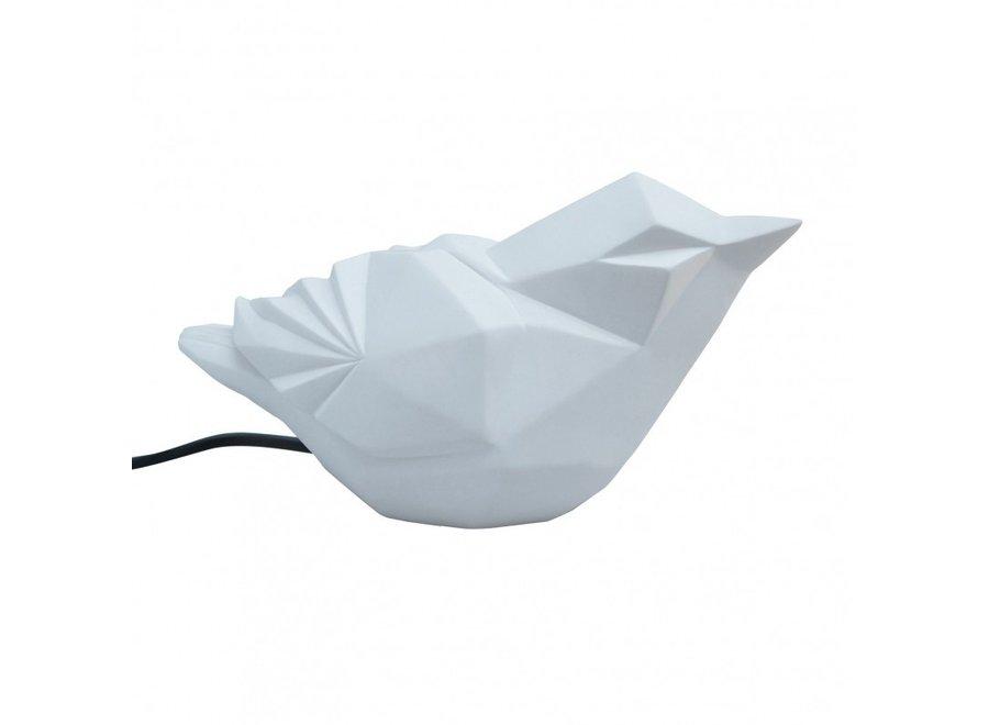 Origami Bird Lamp - White