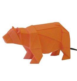 Origami Bear lamp - Orange