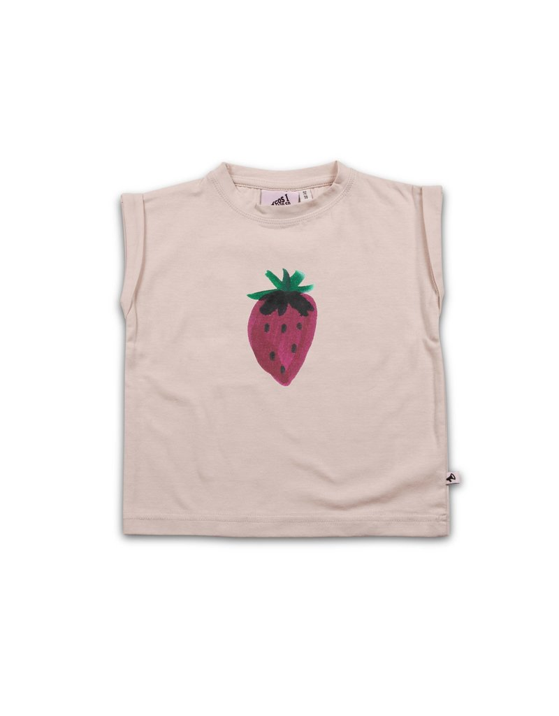 cos I said so Cos I Said So - Boxy Tee - Strawberry 'Cream Tan'