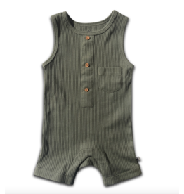 cos I said so Cos I Said So - Sleeveless Onesie 'Agave Green'