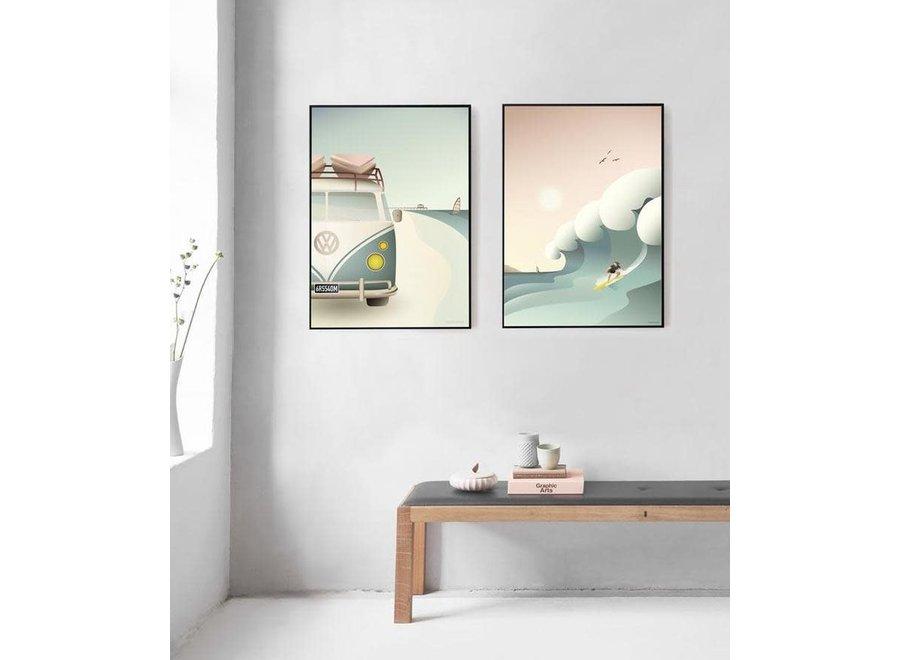 Vissevasse - Poster 'Surfer'