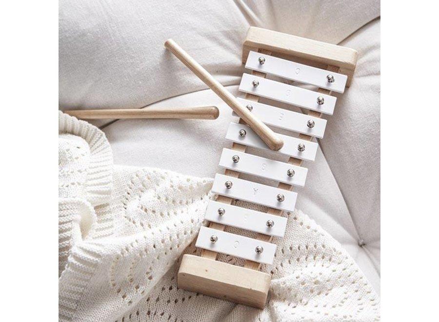 Geboortelijst  -  Kids Concept - Xylofoon Wit