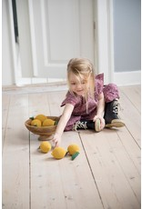 Sebra Sebra - Crochet Rattle 'Lemon'