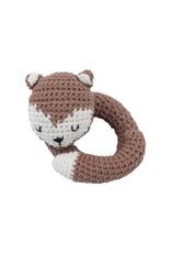 Sebra Sebra - Crochet Rattle 'Sparky the fox'
