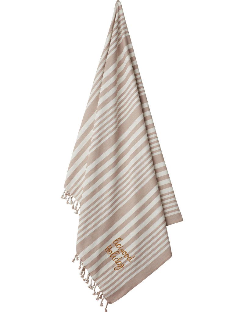Liewood Liewood - Monroe Beach towel - Stripe 'Rose'