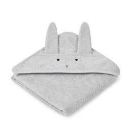 Liewood Liewood - Albert Hooded Towel - Rabbit Grey
