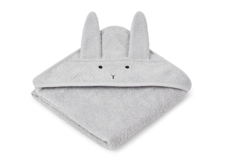 Liewood - Albert Hooded Towel - Rabbit Grey