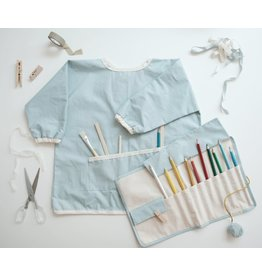 Fabelab Fabelab - Craft Smock 'Foggy Blue'
