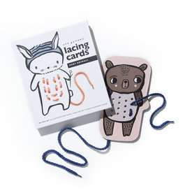 Wee Gallery Wee Gallery - Animal Lacing Cards