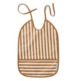 Liewood Liewood - Lai Bib 'Mustard Stripes'