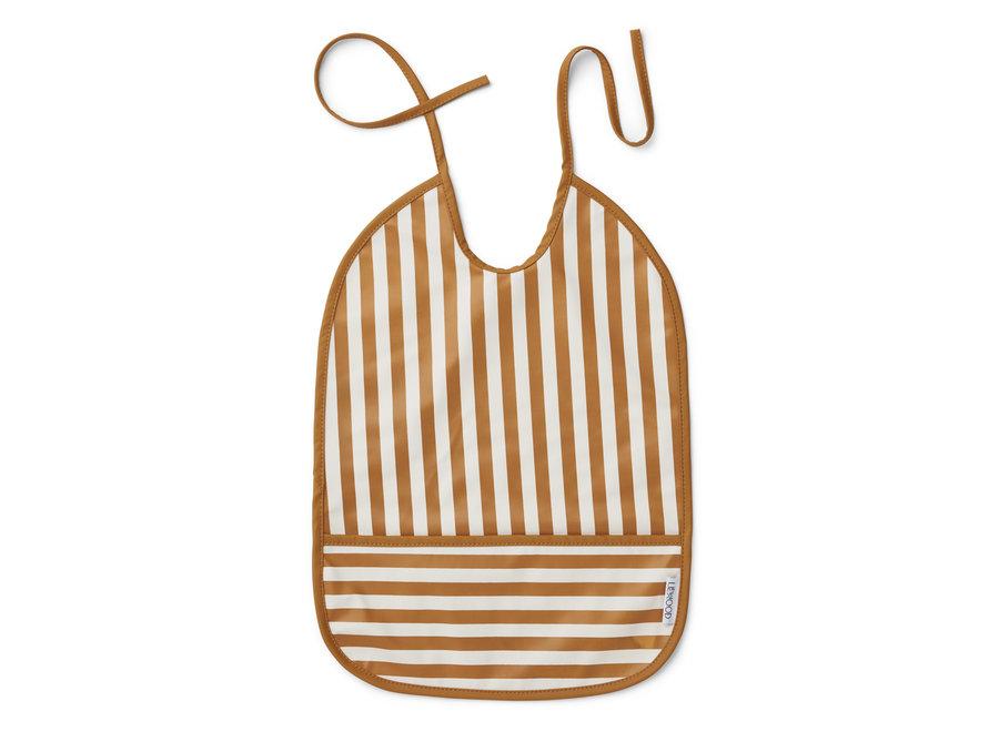 Liewood - Lai Bib 'Mustard Stripes'