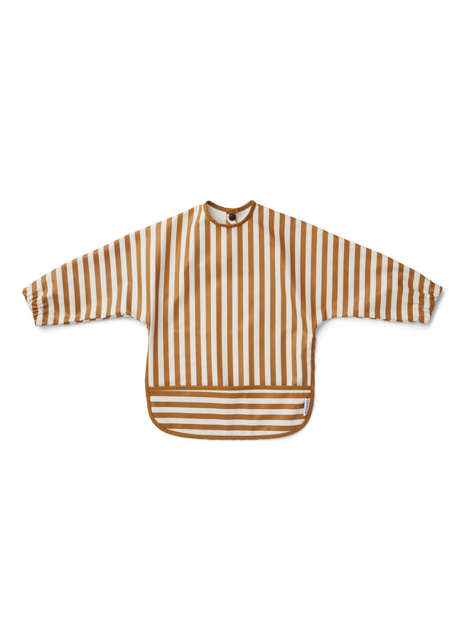 Liewood - Merle Bib 'Mustard Stripe'