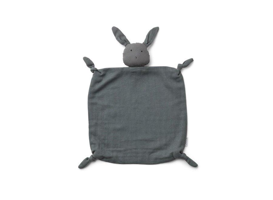 Liewood - Agnete knuffeldoekje 'Rabbit Stone Grey'
