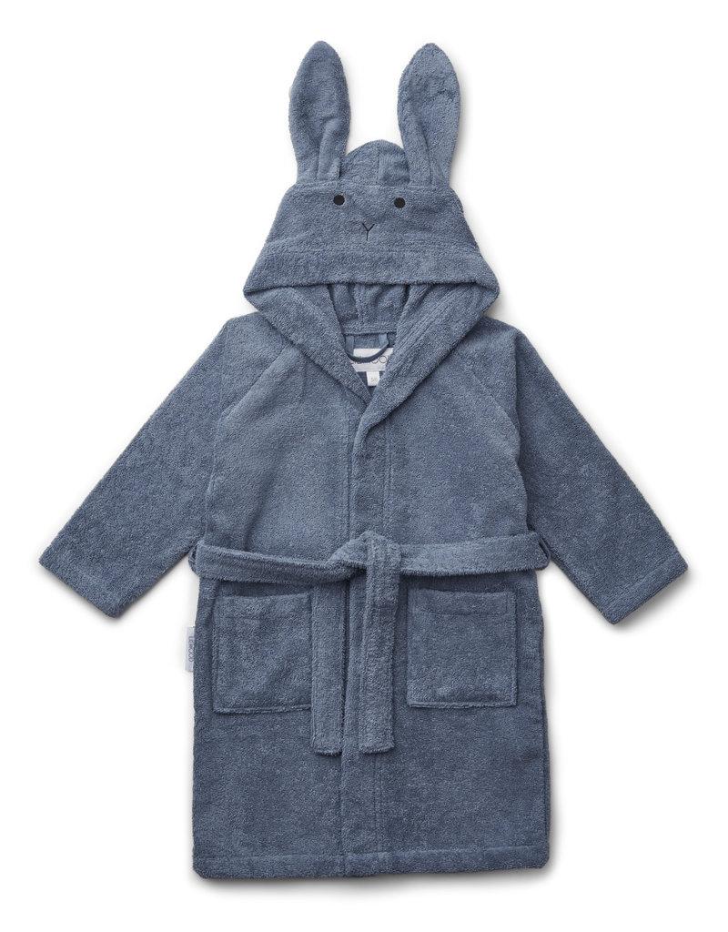 Geboortelijst Billie - Liewood - Badjas 'Lily' - Rabbit 'Blue Wave' 1 tot 2 jaar