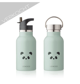 Liewood - Water bottle 'Panda Mint'