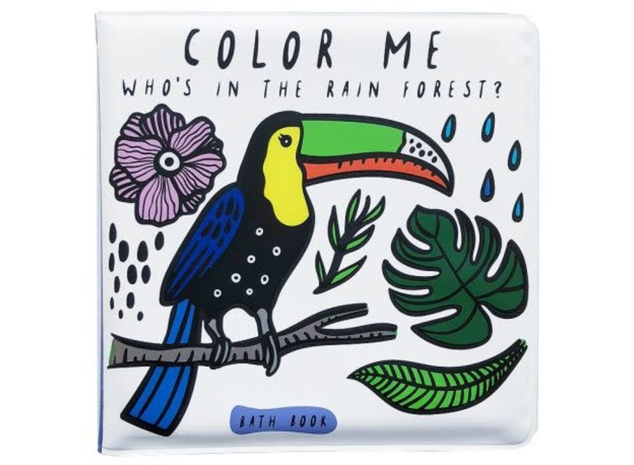 Wee Gallery - Color Me - Rainforest