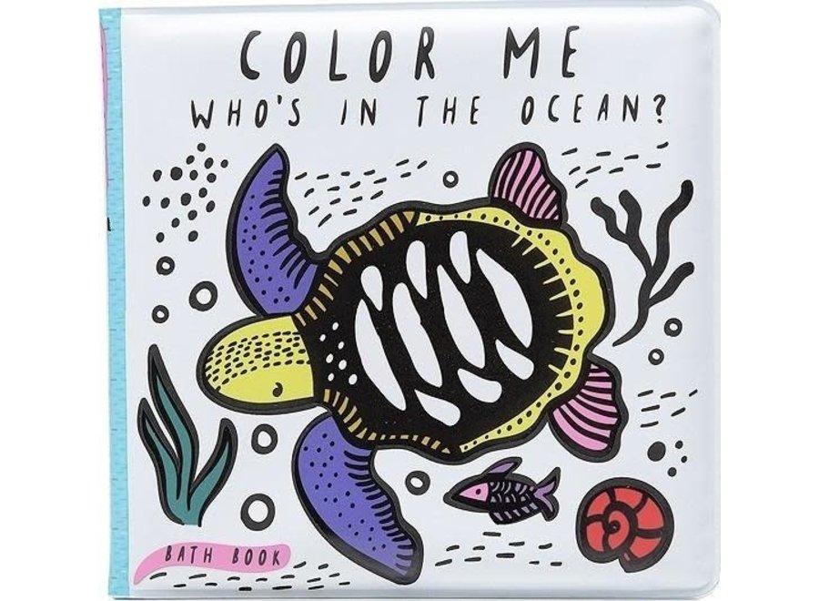 Wee Gallery - Badboekje Color Me - Ocean