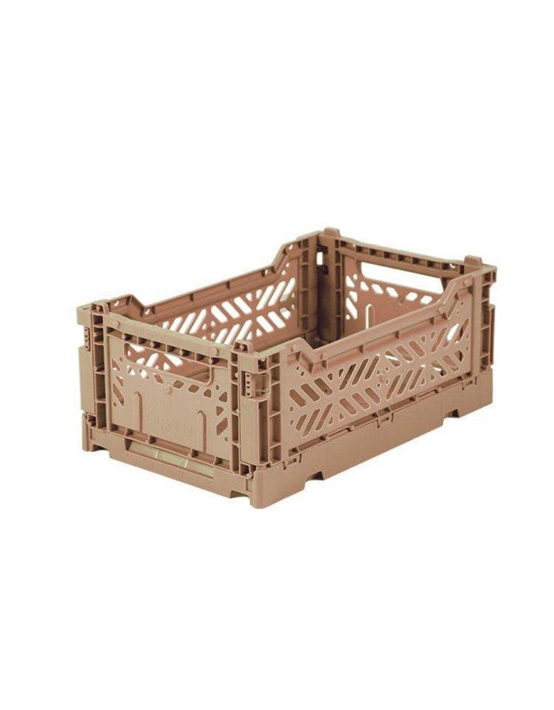 Eef Lillemor Lillemor - Folding Crate 'Taupe' - Mini