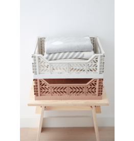 Eef Lillemor Lillemor - Folding Crate 'Taupe' - Medium