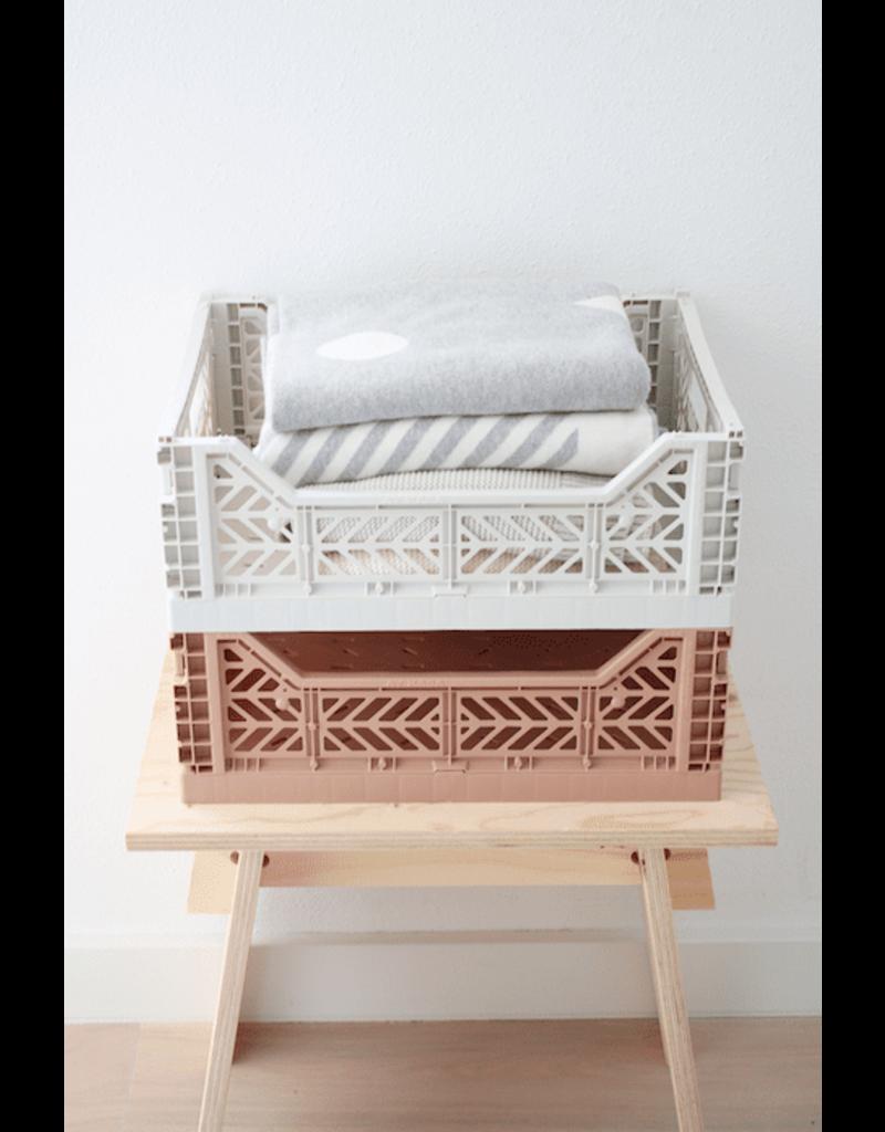Eef Lillemor Lillemor - Folding Crate 'Taupe' - Medium