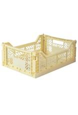 Eef Lillemor Lillemor - Folding Crate 'Banana' - Medium