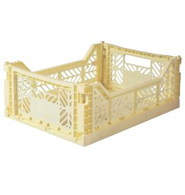 Eef Lillemor Lillemor - Folding Crate 'Banana' - Medium