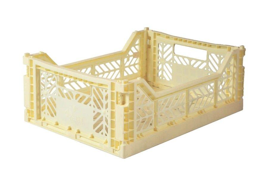 Lillemor - Folding Crate 'Banana' - Medium