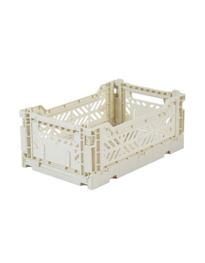 Eef Lillemor Lillemor - Folding Crate 'Light Grey' - Mini