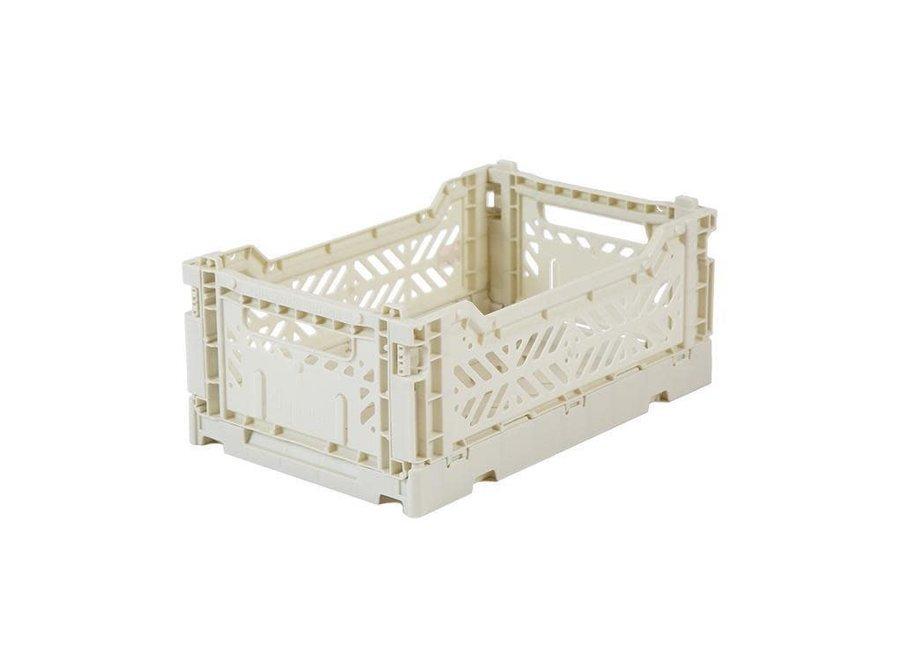 Lillemor - Folding Crate 'Light Grey' - Mini