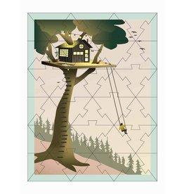 Vissevasse Vissevasse - Mini Puzzel Treehouse
