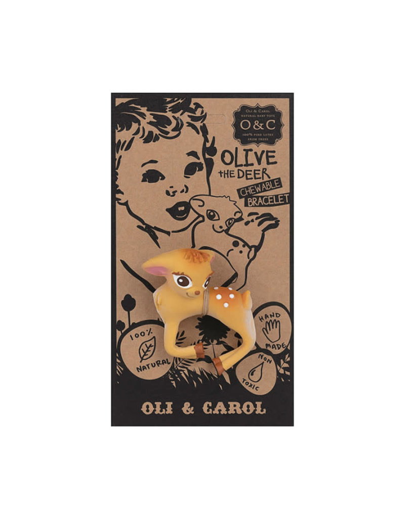 Oli & Carol Oli & Carol - Bijtspeeltje Bambi Armband