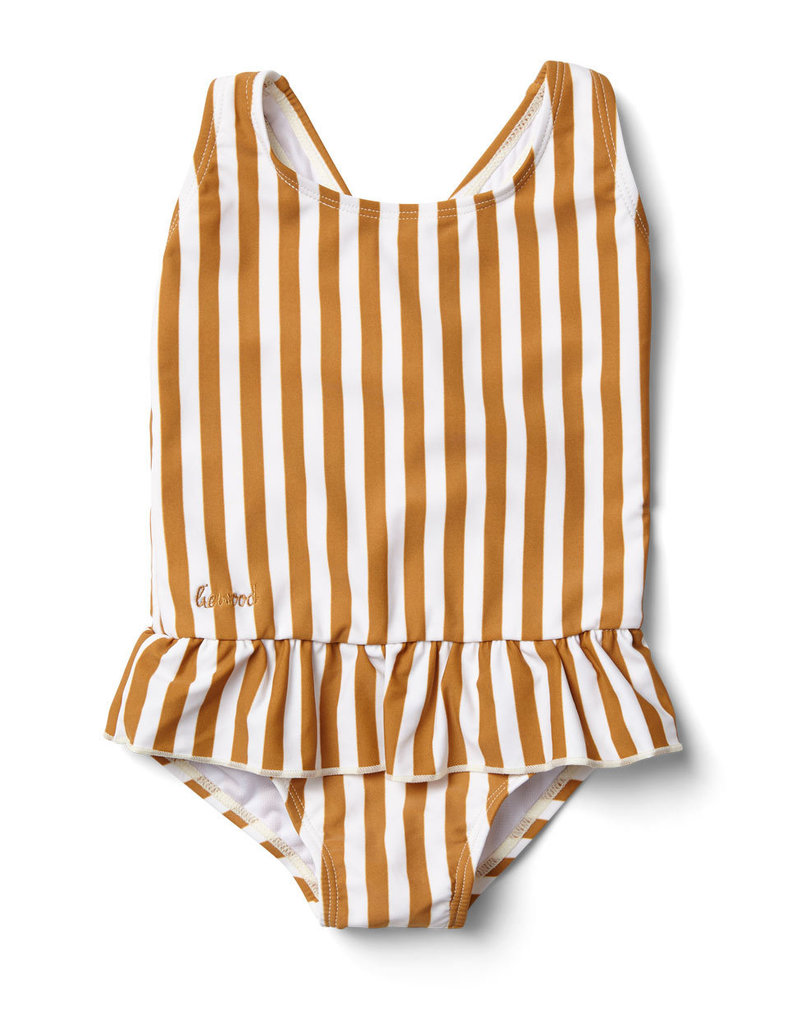 Liewood Liewood - Amara swimsuit Mustard Stripes