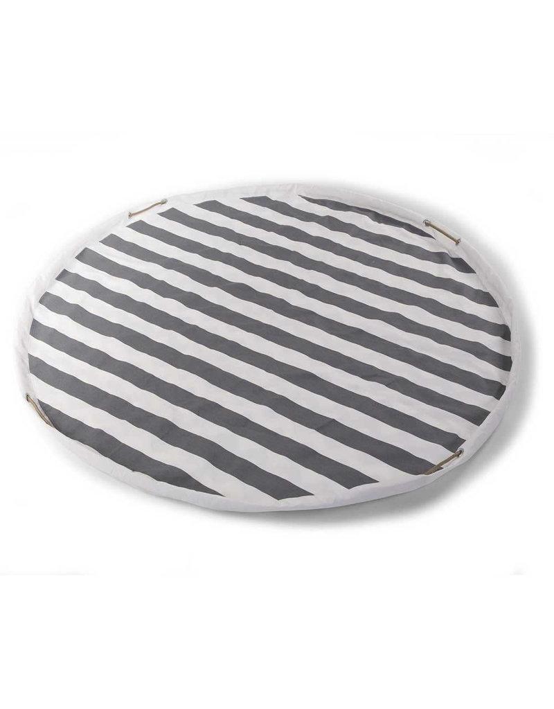 Childhome Childwood - Speelmat / Opbergzak 'Tipi Stripes / Zigzag'