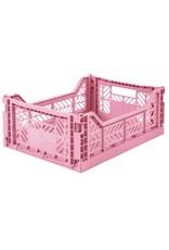 Eef Lillemor Lillemor - Folding Crate 'Baby Pink' - Medium