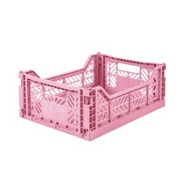 Eef Lillemor Lillemor - Folding Crate 'Baby Pink' - Medium