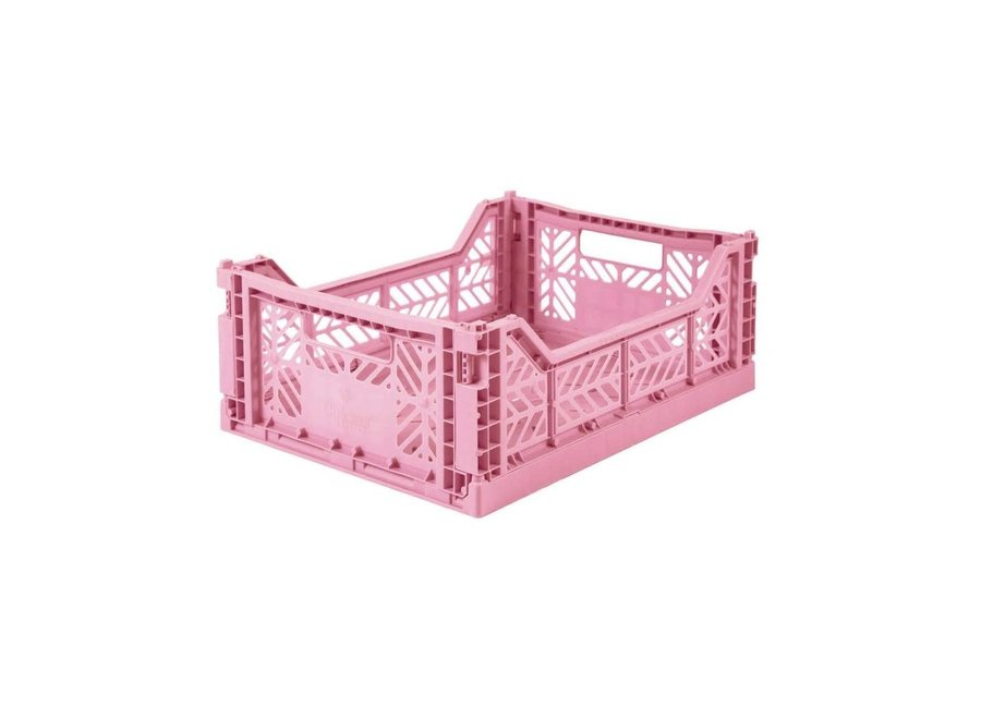 Lillemor - Folding Crate 'Baby Pink' - Medium