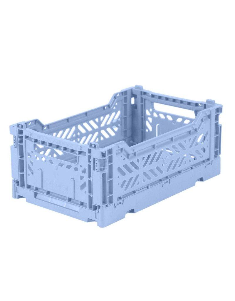 Eef Lillemor Lillemor - Folding Crate 'Baby Blue' - Mini